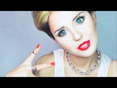 miley cyrus makeup tutorial