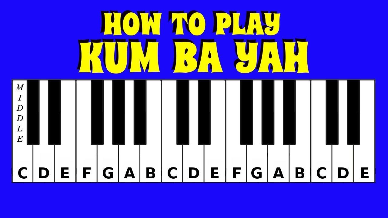 baa baa black sheep piano tutorial