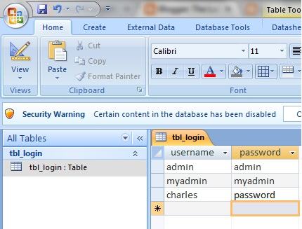 access 2007 forms tutorial