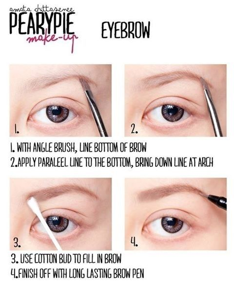 eyebrow tutorial for dark skin