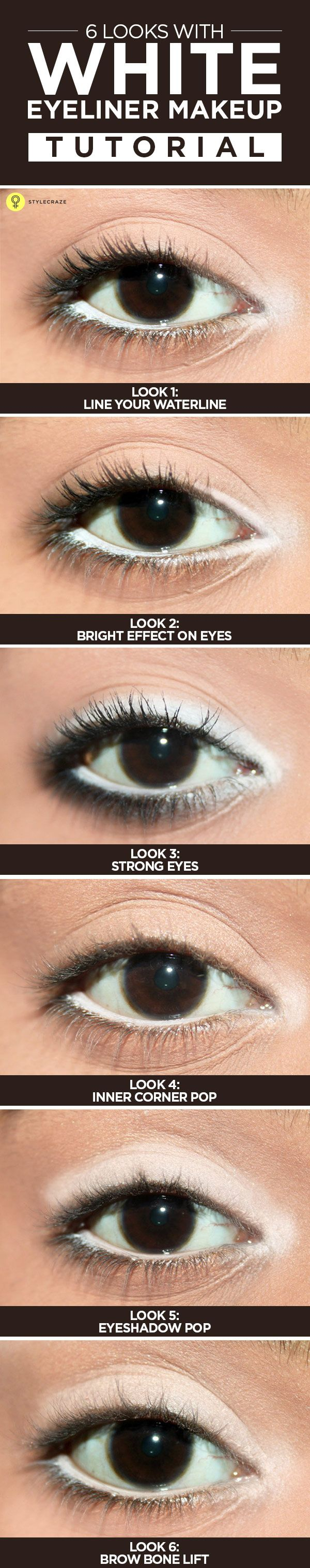 eye liner make up tutorial