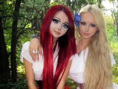 valeria lukyanova makeup tutorial