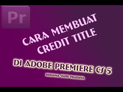 adobe premiere title tutorial