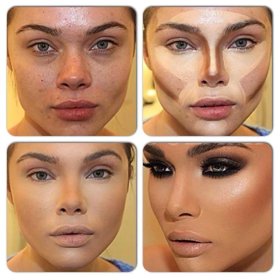 how to contour makeup tutorial