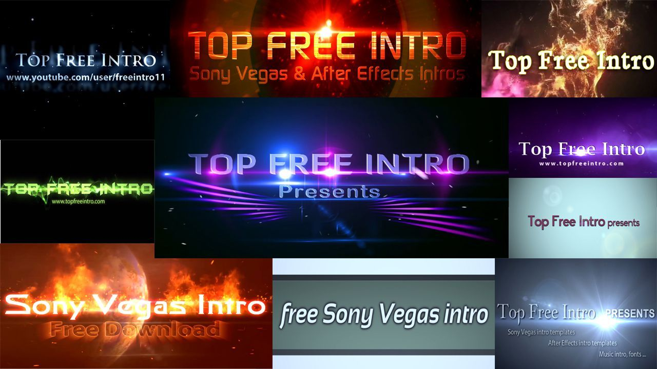 sony vegas pro 11 intro template tutorial