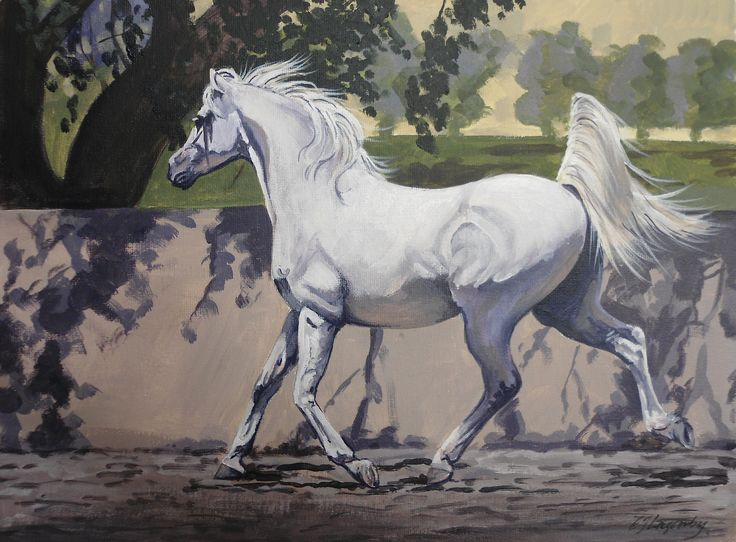 model horse painting tutorial