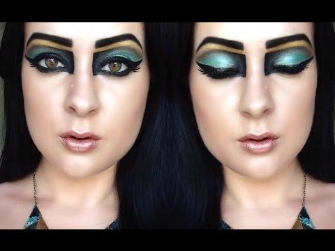 egyptian eye makeup tutorial
