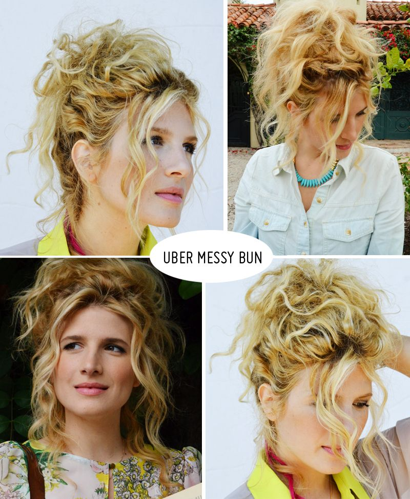 curly hair mousse tutorial