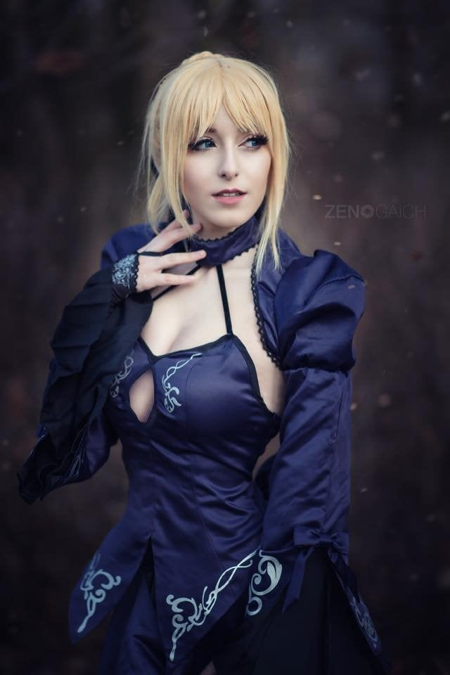 saber fate stay night cosplay tutorial