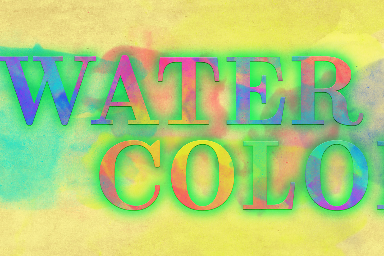 watercolor effect photoshop tutorial