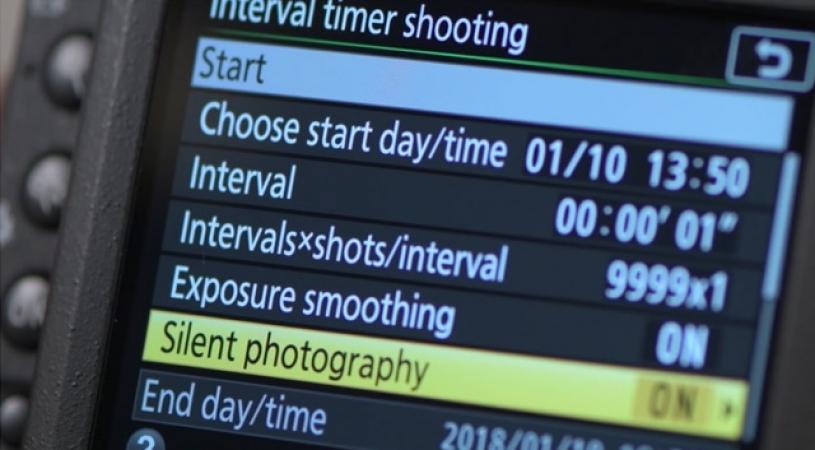 nikon d5600 time lapse tutorial