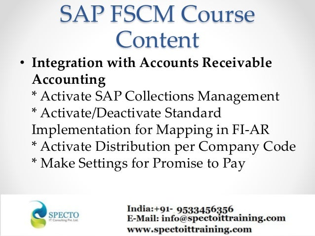 sap accounts receivable tutorial