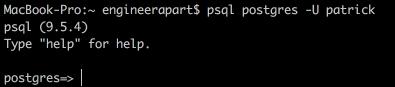 psql command line tutorial