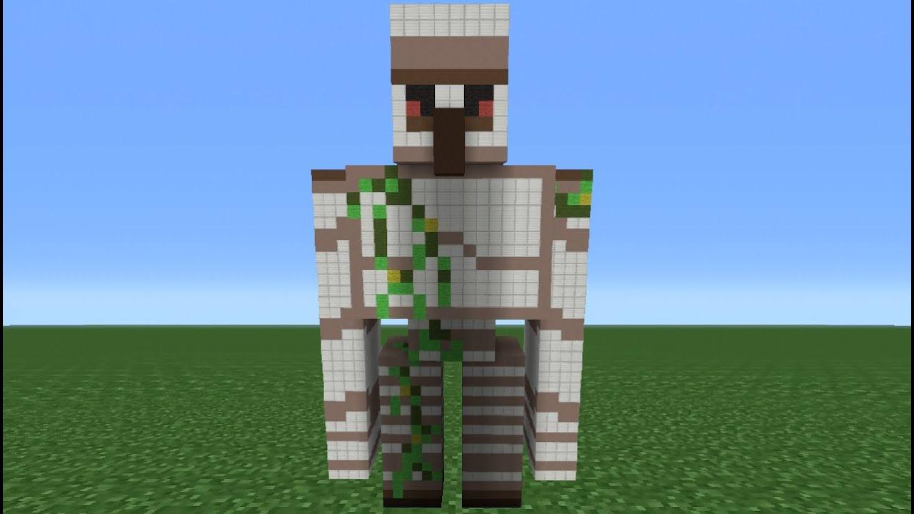 minecraft anubis statue tutorial
