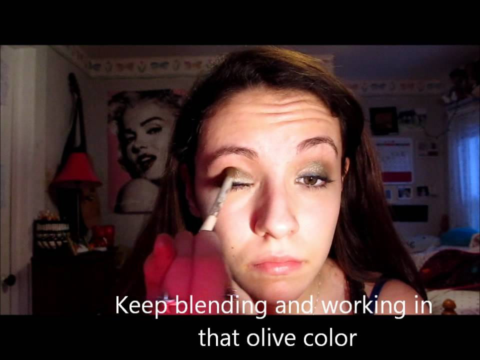 aria montgomery makeup tutorial