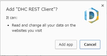 dhc rest client tutorial