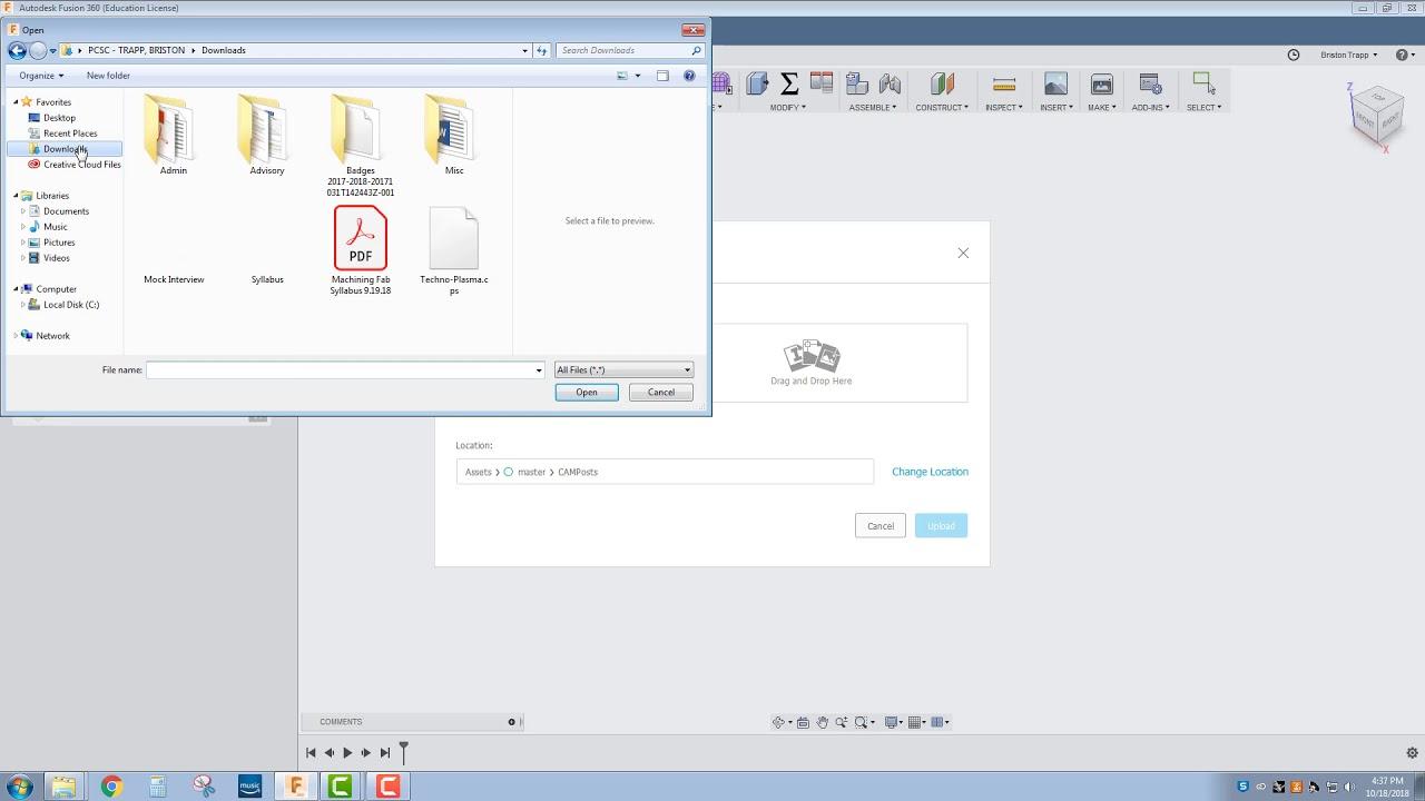 fusion 360 post processor tutorial