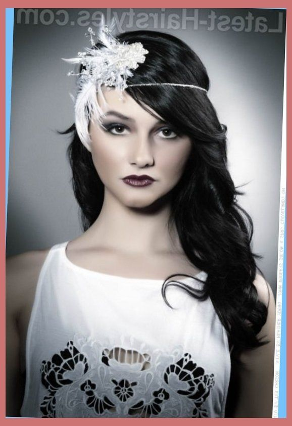great gatsby hairstyles for long hair tutorial