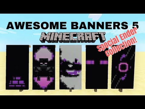 minecraft cool banner designs tutorial