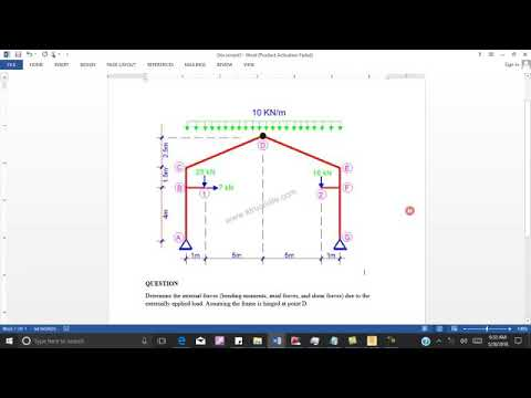 robot structural analysis tutorial