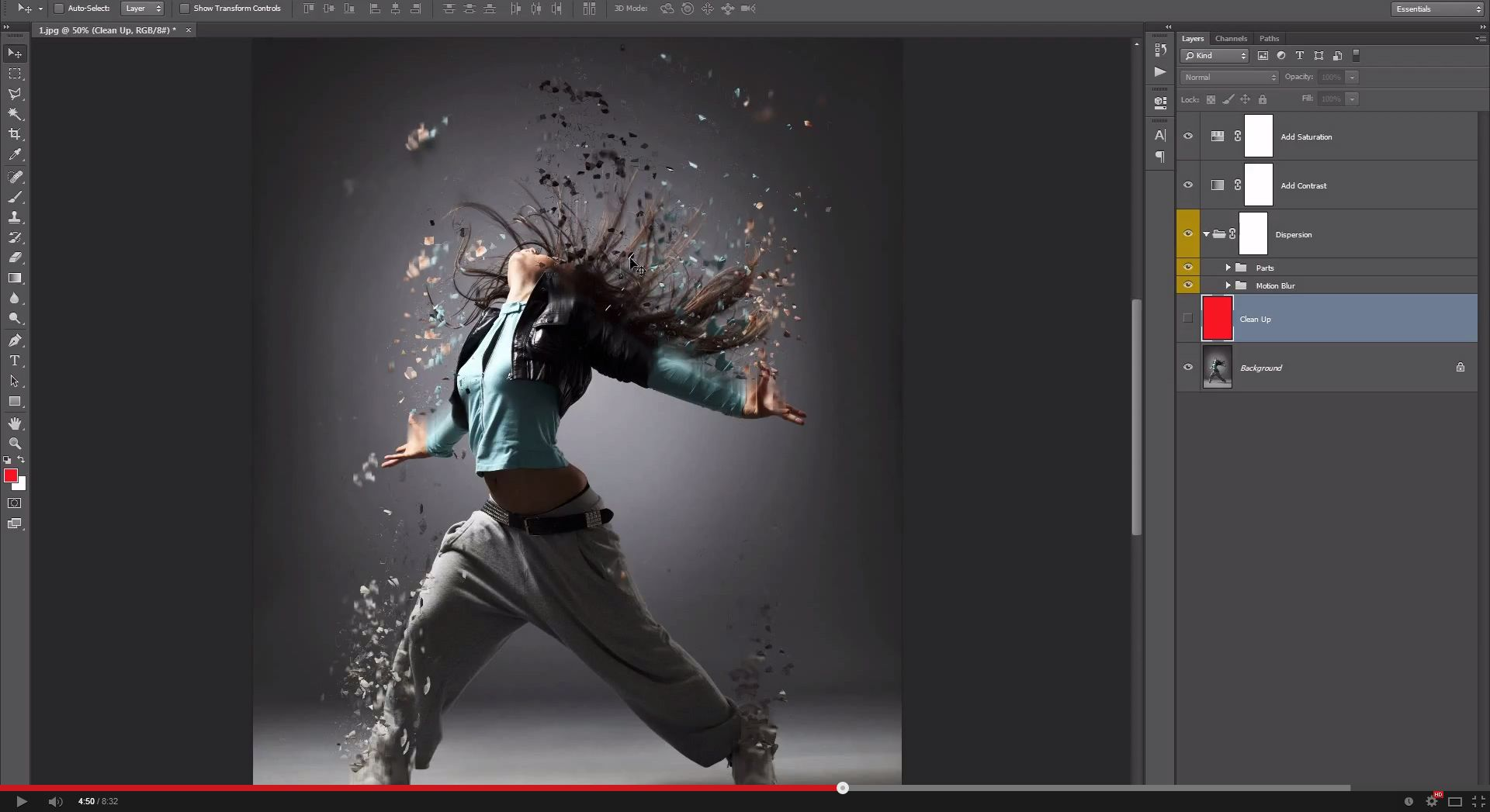 sports graphics photoshop tutorial
