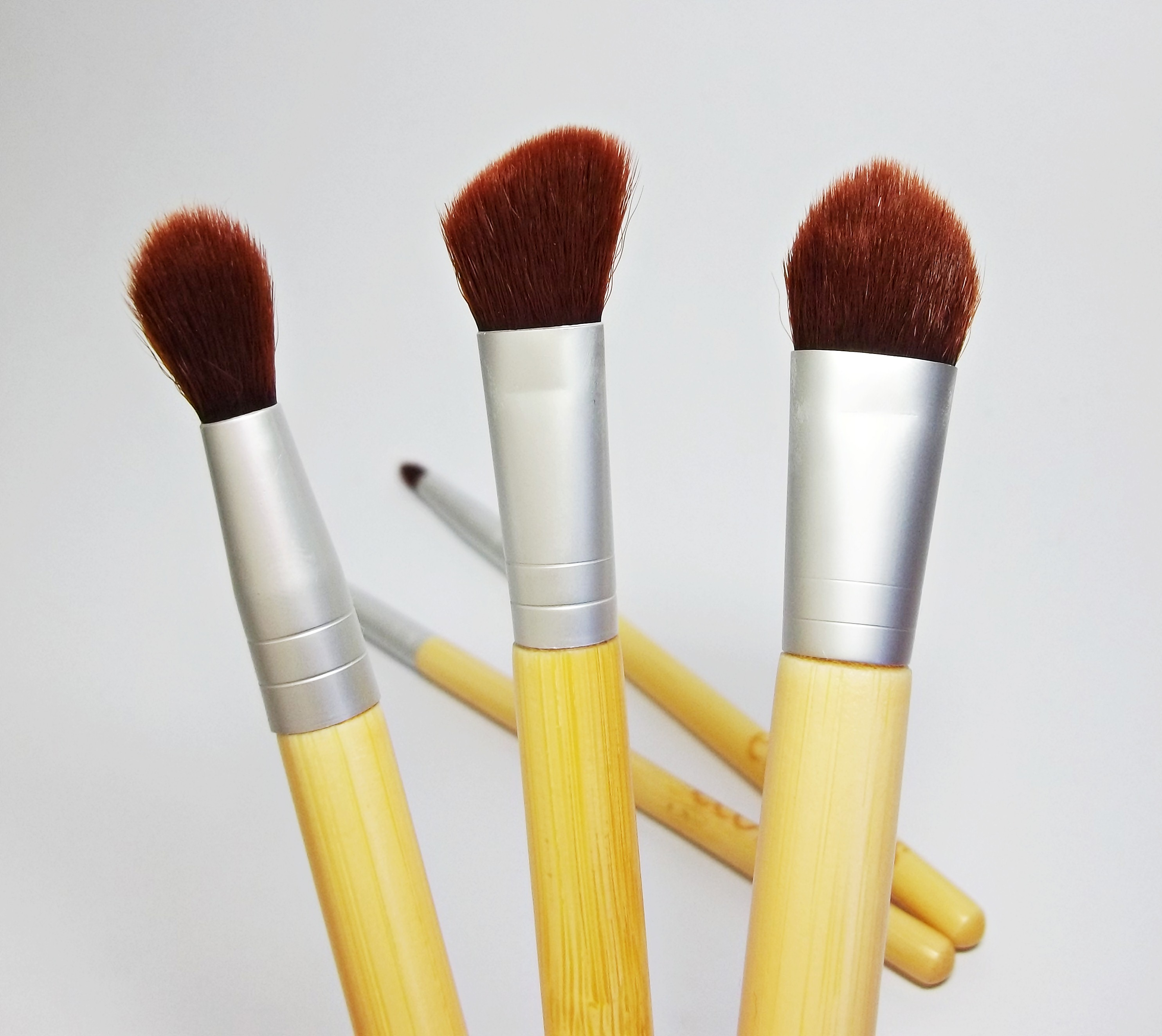 ecotools eye brush set tutorial
