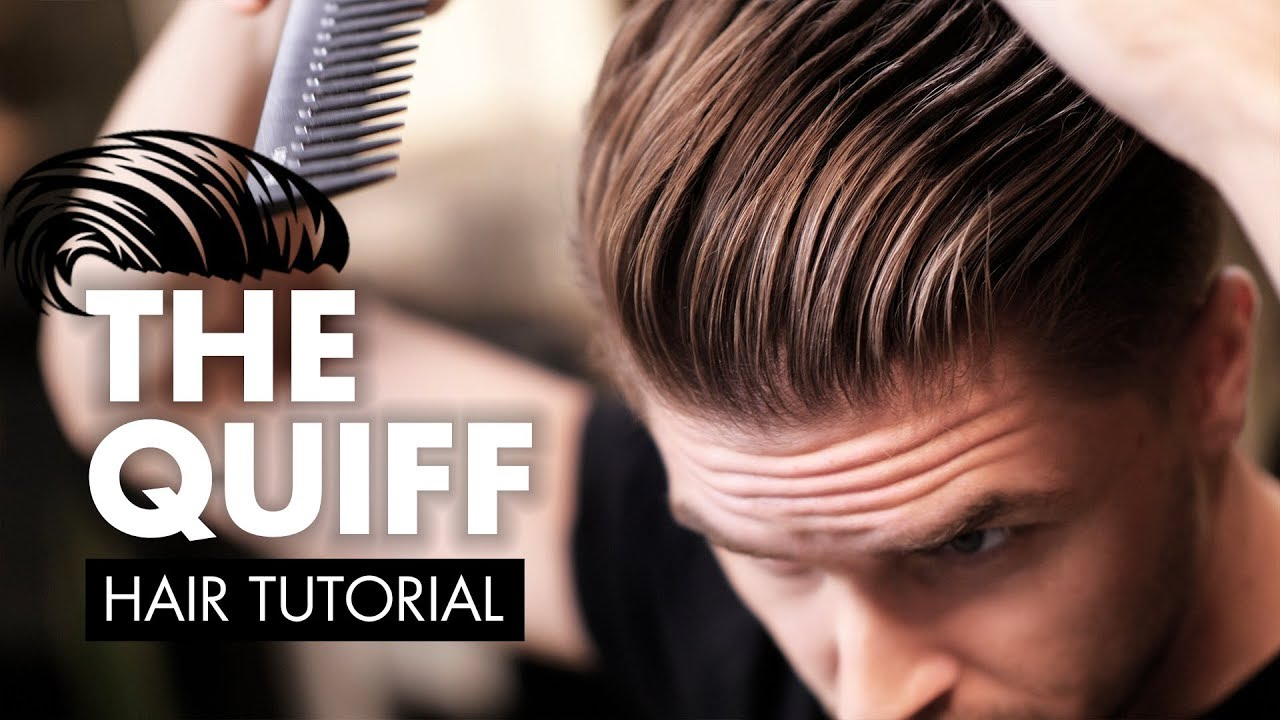 short hair quiff tutorial