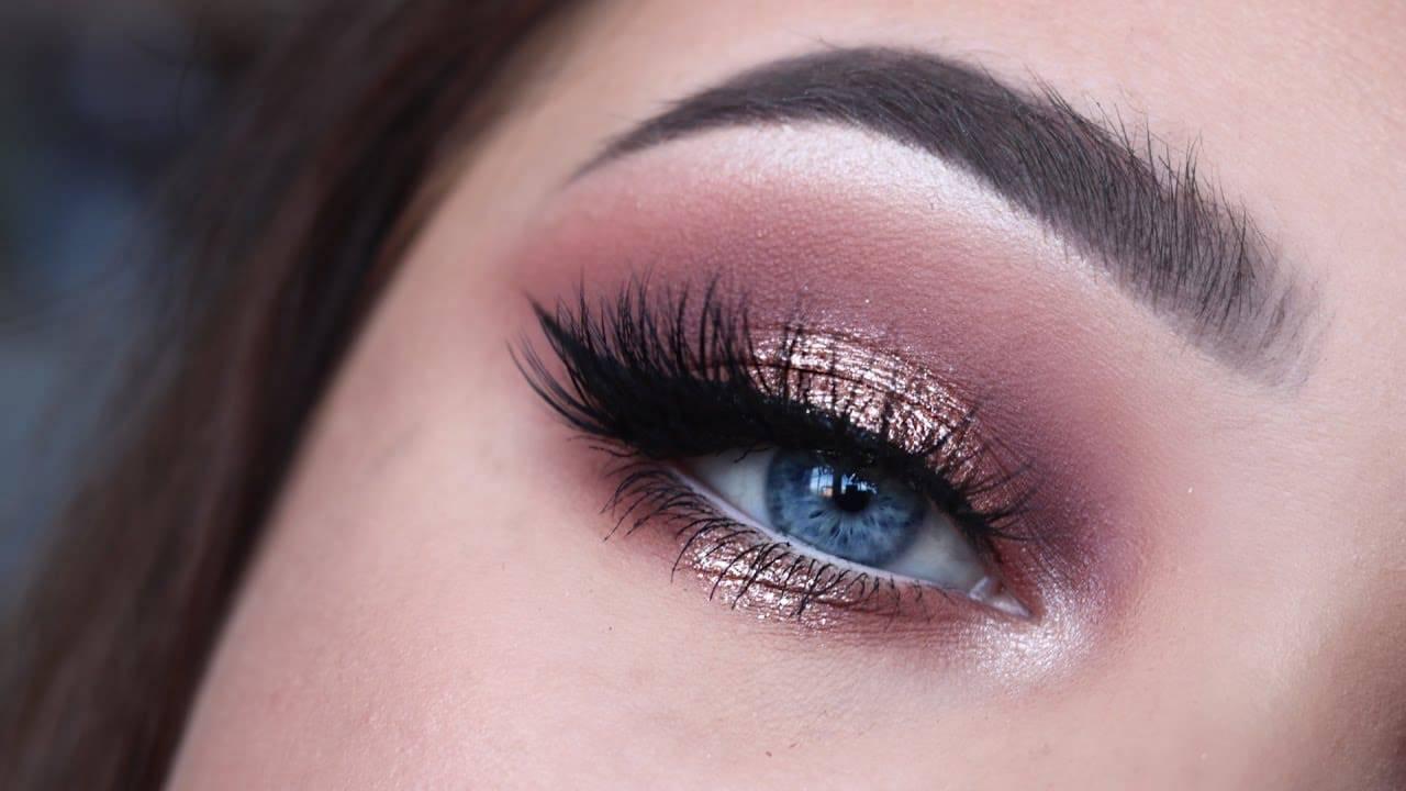 mac gold eyeshadow tutorial