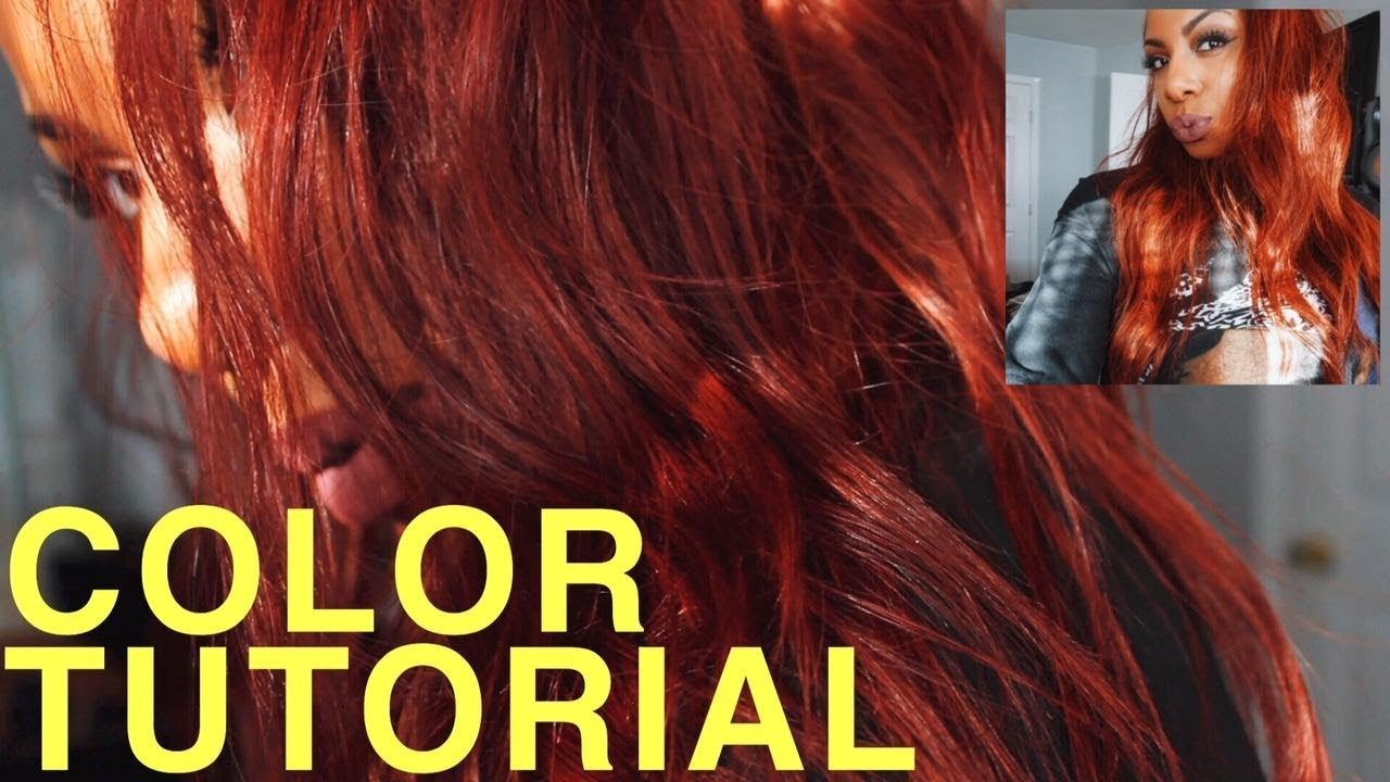 ginger spice hair tutorial