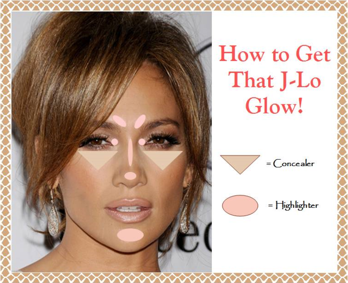 glowing face makeup tutorial