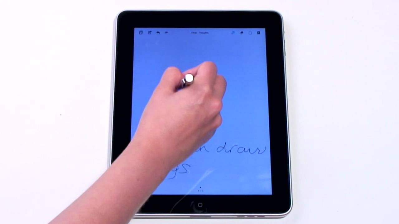 bamboo paper ipad tutorial