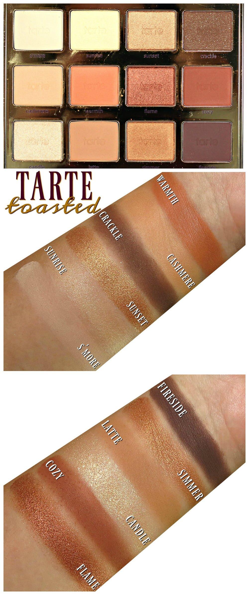 tarte toasted palette tutorial