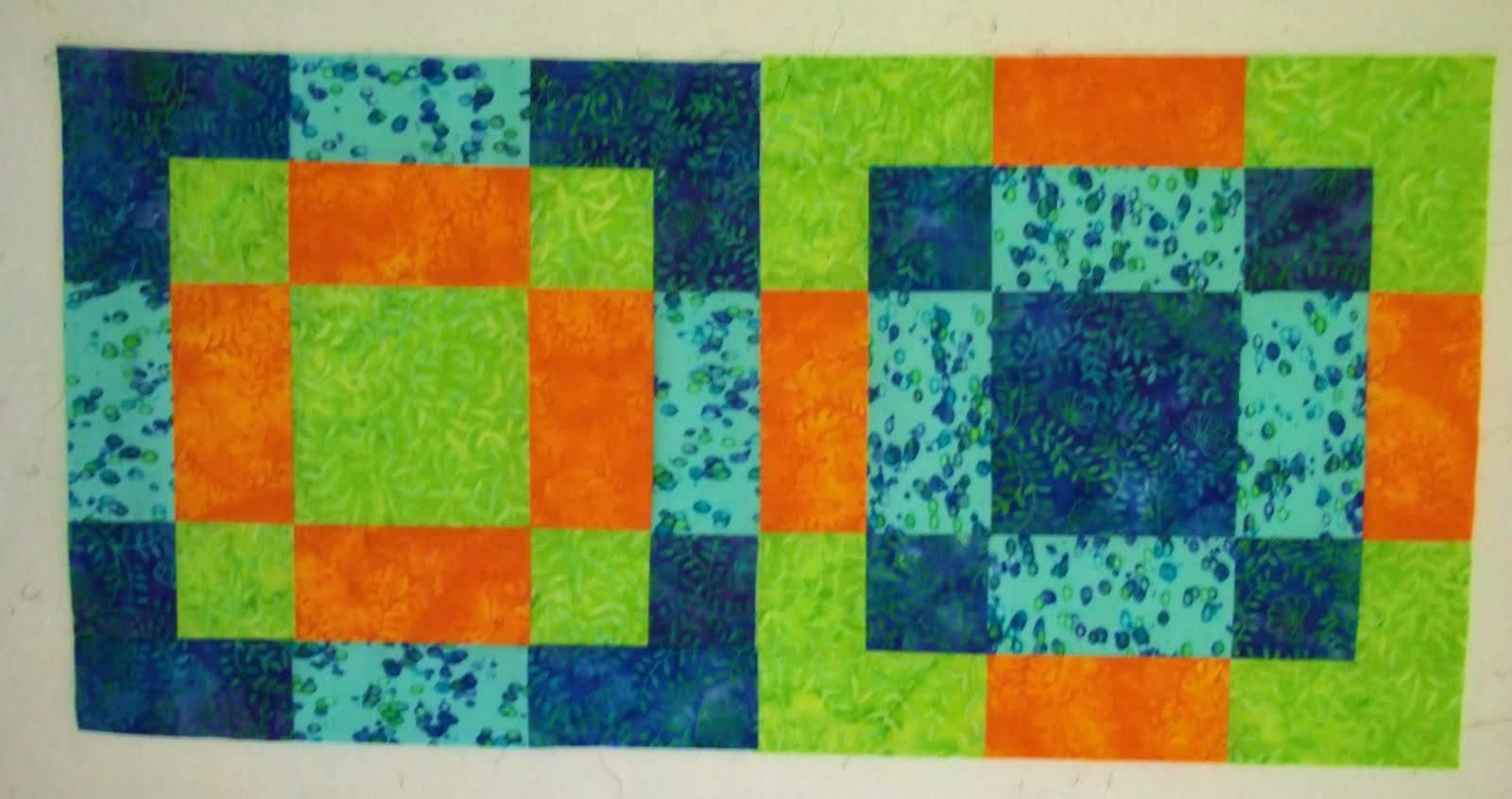 disappearing 9 patch quilt block tutorial