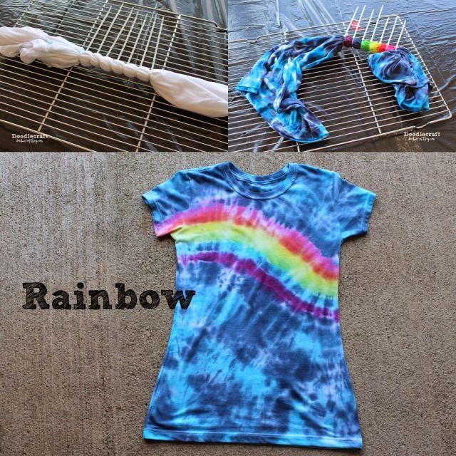 bullseye tie dye tutorial
