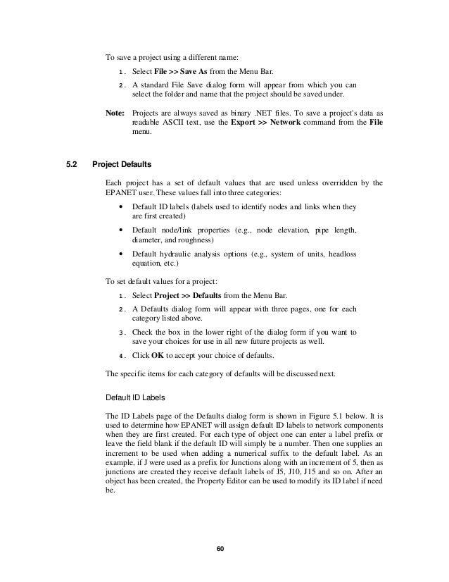 epanet 2.0 tutorial