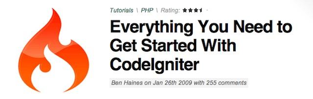 codeigniter tutorial step by step