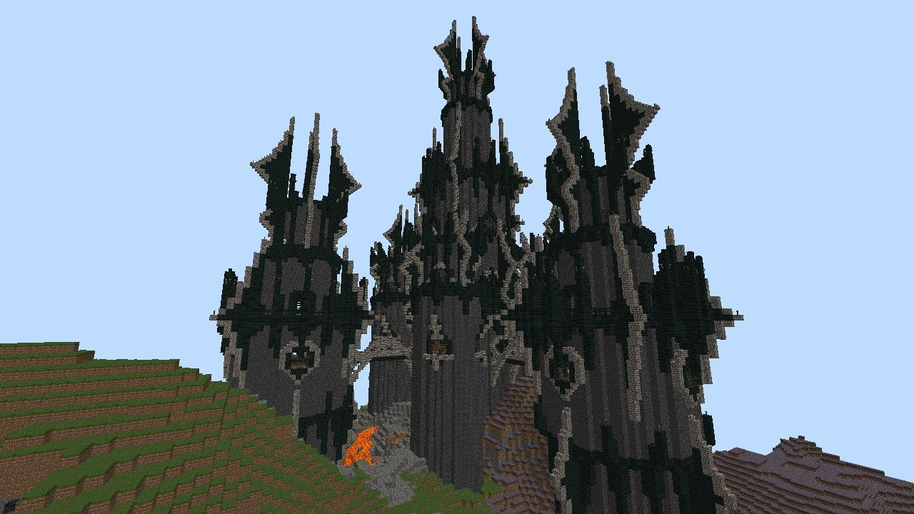 how to make a castle in minecraft tutorial