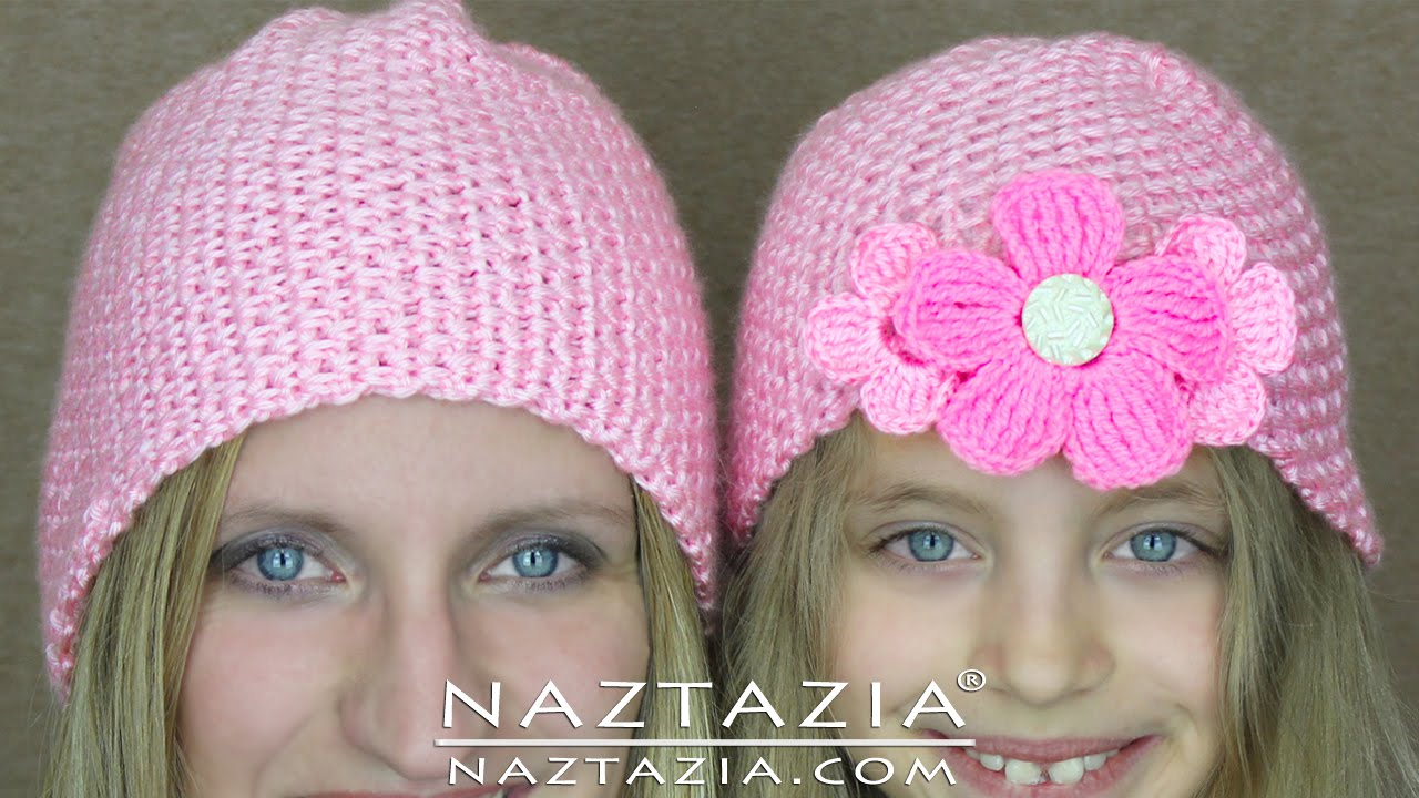 crochet beret hat tutorial