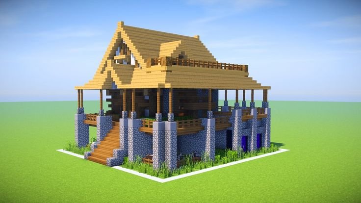 the best minecraft house tutorial