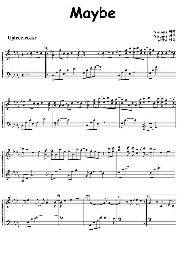 love me yiruma piano tutorial