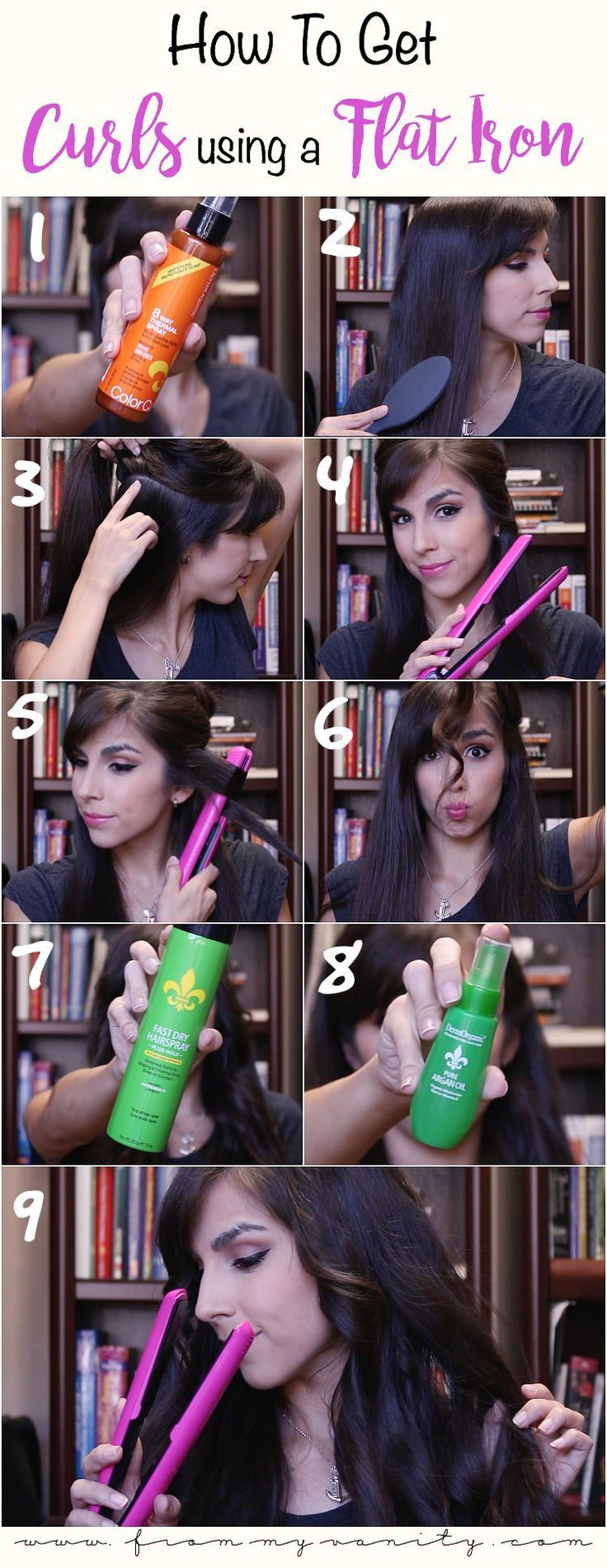 ghd curls tutorial short hair