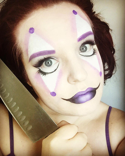 professional clown makeup tutorial