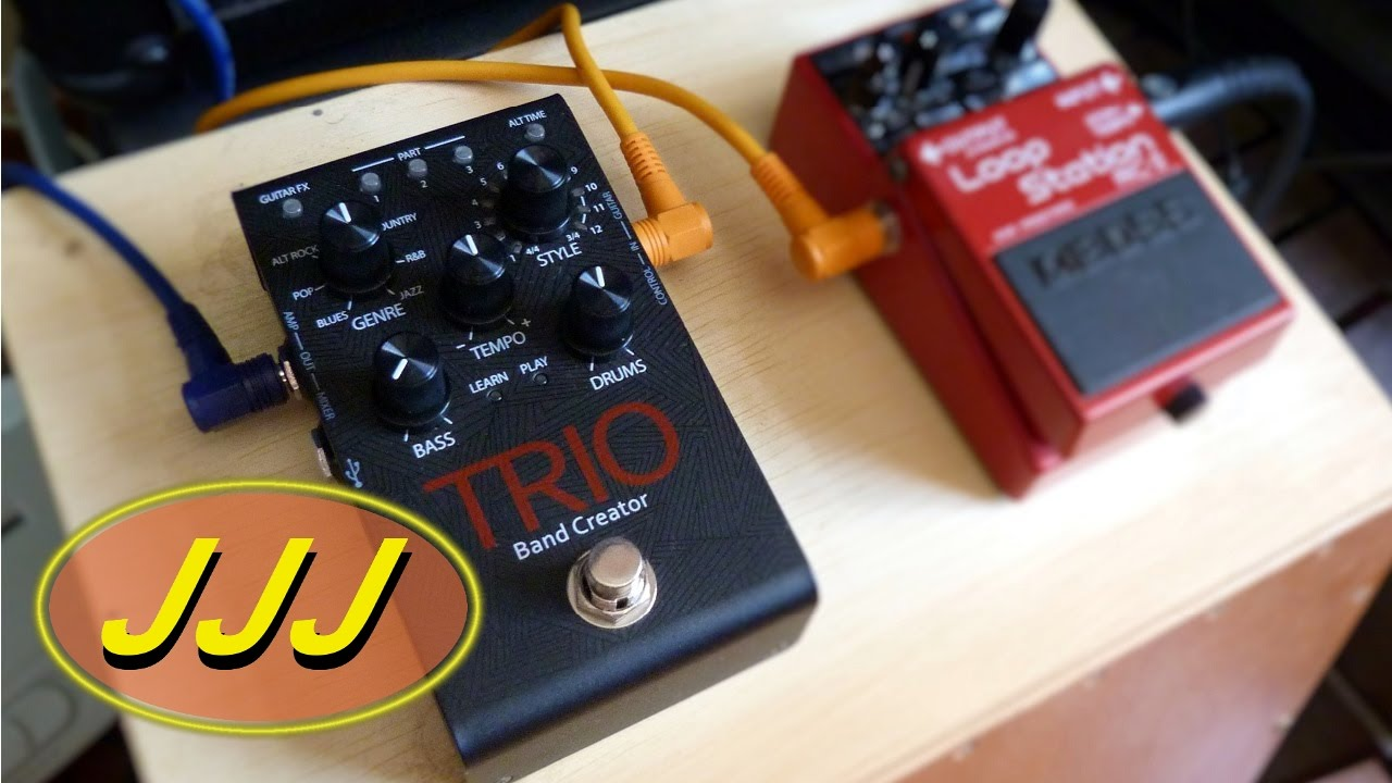digitech trio plus tutorial