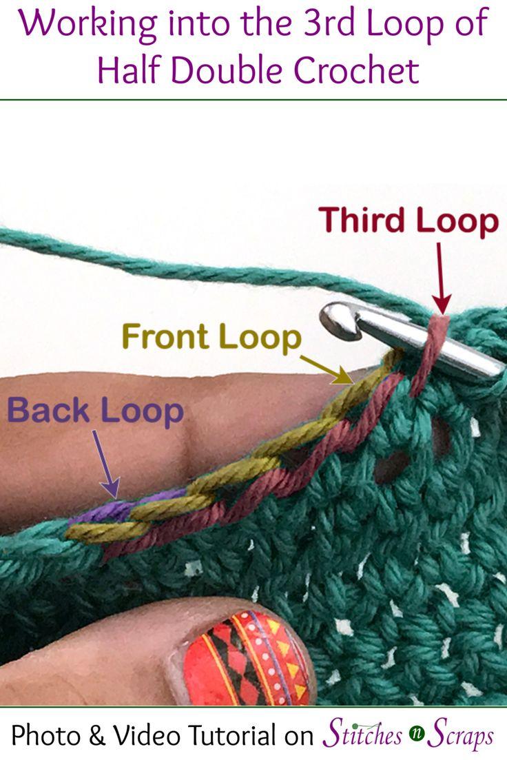 crochet loop stitch tutorial
