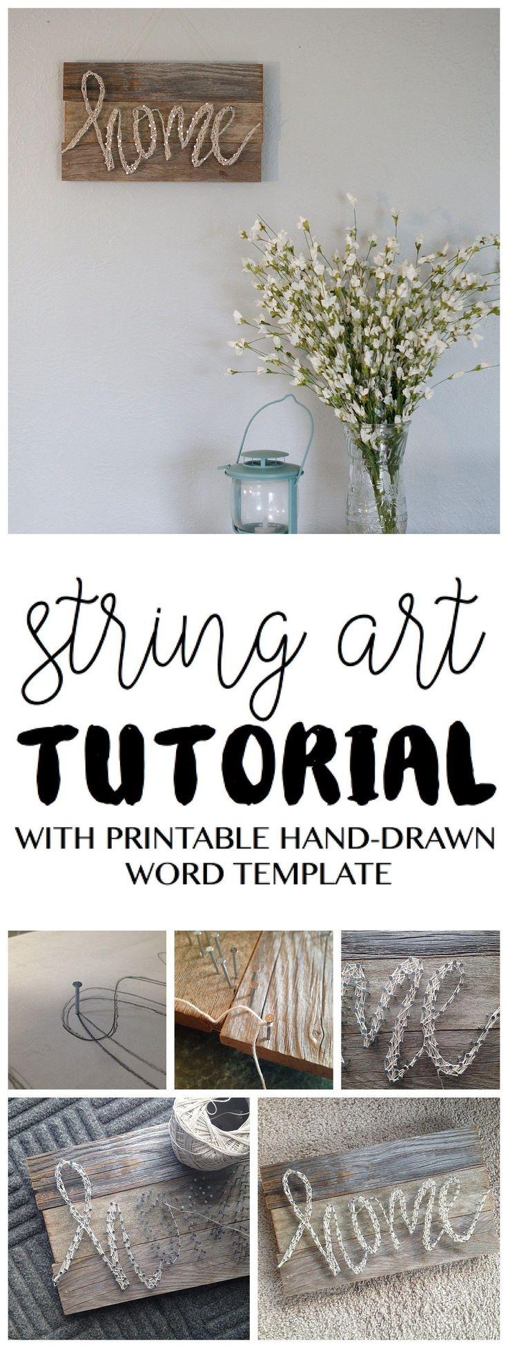 3d string art tutorial