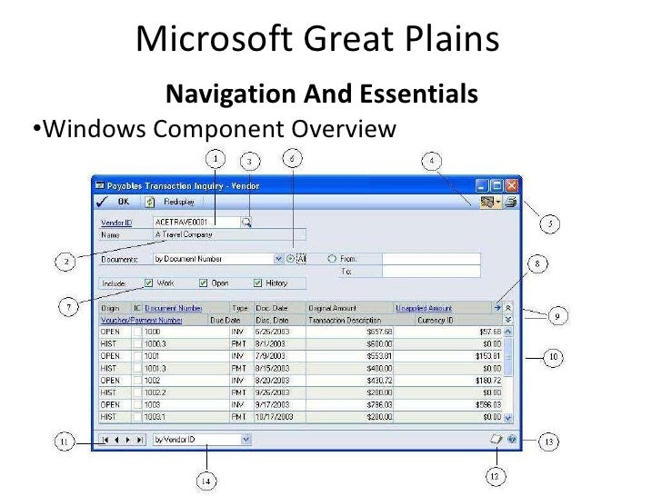 great plains microsoft dynamics tutorial