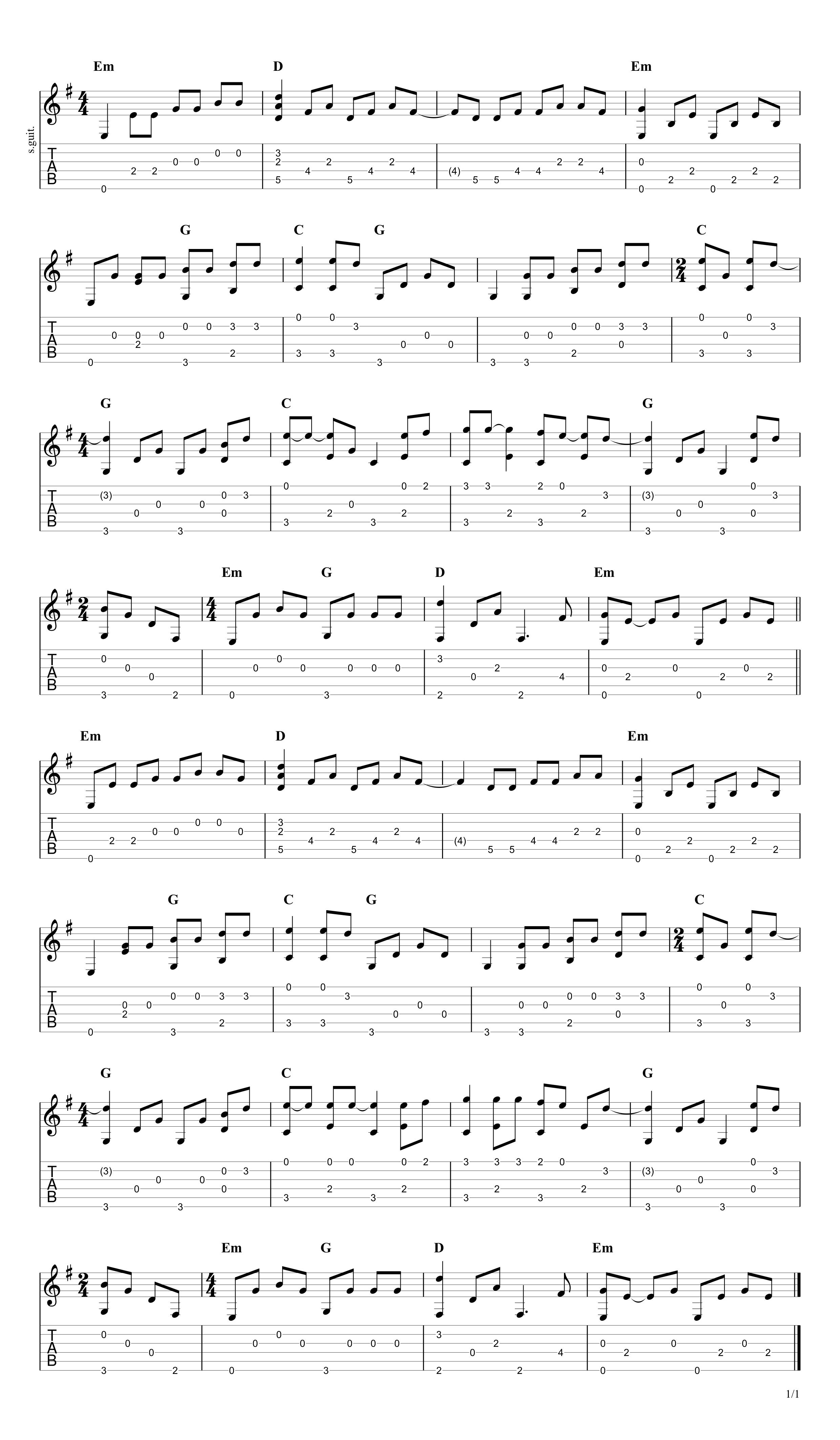 today my life begins guitar tutorial
