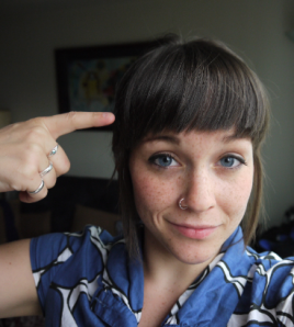 how to cut bangs tutorial