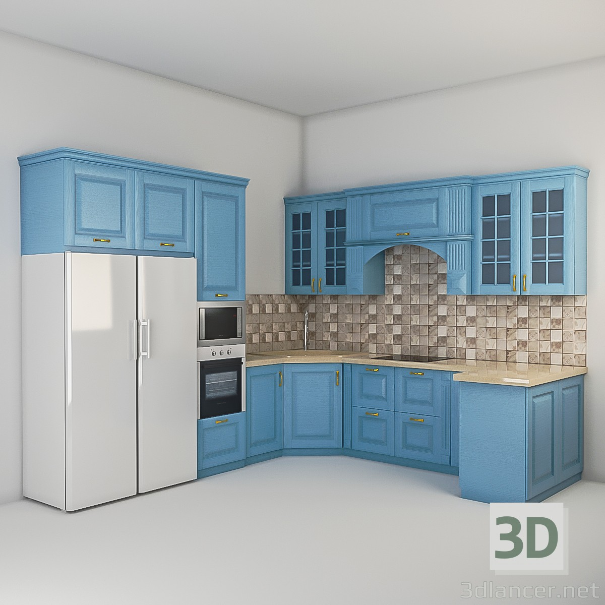 3d max kitchen tutorial
