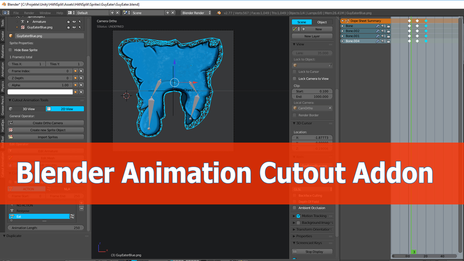 blender animation video tutorial